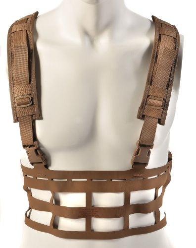 Raine Vector Ultra Light Large Special Forces Chest Rig, (Force Recon Vest)