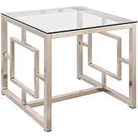 Coaster 703737 Home Furnishings End Table, Satin