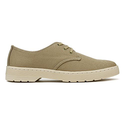 Martens Hombres Dr Zapatos Olive Gris Delray d5PfqWPw