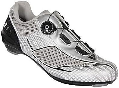 Massi Aria Platinum - Zapatillas para Ciclismo de Carretera Unisex ...