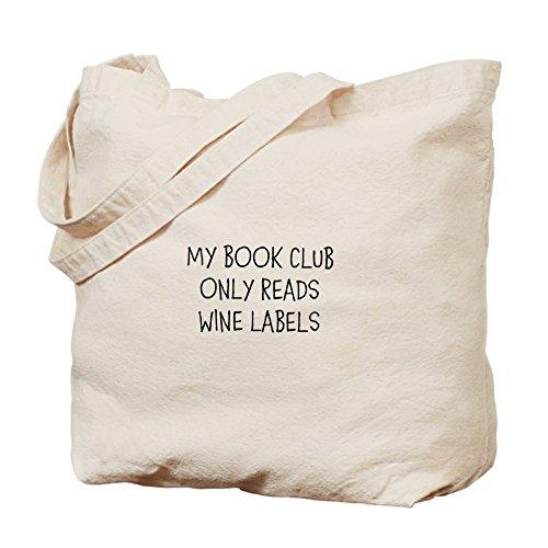 CafePress–Libro Club–Plain gamuza de bolsa–bolsa de lona bolsa, bolsa de la compra