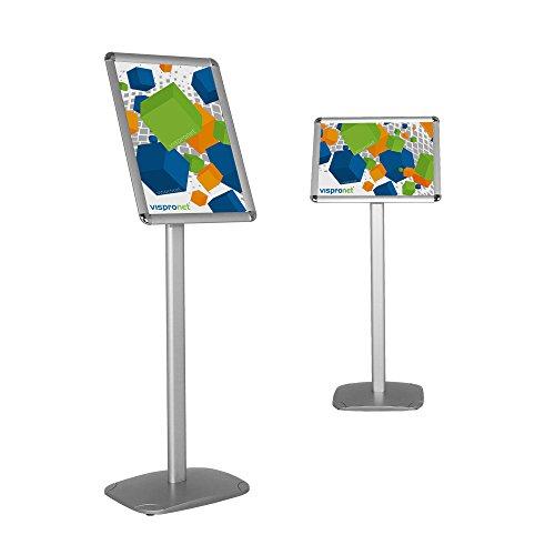 Vispronet Pedestal Floor Stand - Sign Holder - Directional Message Info Board ()