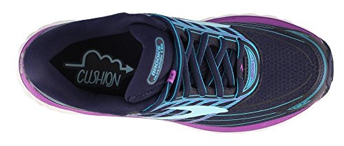 Blue Cactus Women's Brooks Purple Flower Gymnastics Victory Shoes Glycerin Teal 15 0wgwnXHpq