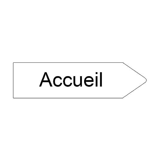 DECOHO - Señal de Flecha direccional Personalizable, Color ...