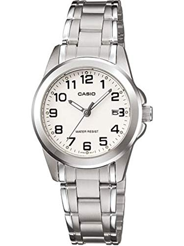 Casio Women's LTP-1215A-7B2DF Quartz Analog Silver Tone - Watch Casio Ltp Womens