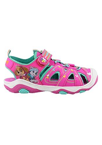 Josmo Kids Baby Girl's Paw Patrol River Sandal (Toddler/Little Kid) Hot Pink 7 M US ()