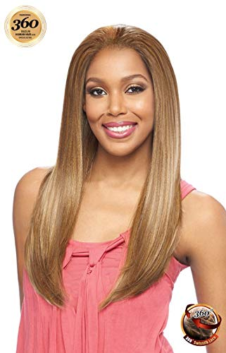 T360HB ROSE (F1010) - Vanessa Brazilian Human Hair Blend 360 Swissilk Lace Wig