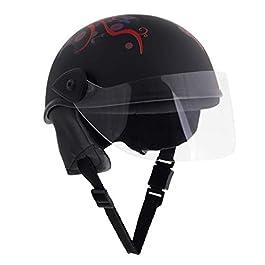 Sage Square Aero Unisex Adult Half Helmet (Black Matte)