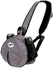 Dare-Point Ball Bag - Sports Backpack for Single Basketball, Football, Vollyball, Soccer Ball with Adjustable