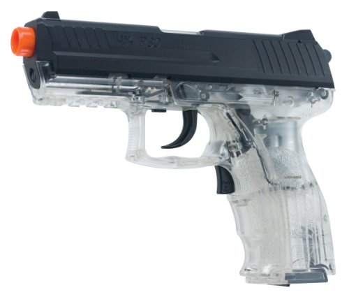 H&K P30 Clear Electric Airsoft Pistol airsoft ()