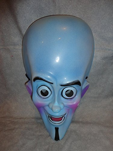 Megamind PVC Mask Kid Size Rubies Halloween Dress -