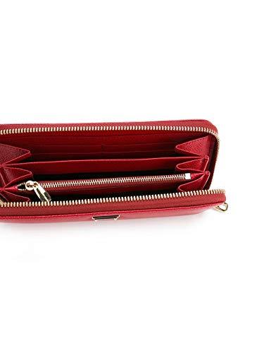 Cuero BI0473A100180303 Mujer Gabbana amp; Rojo Billetera Dolce x4UtXH