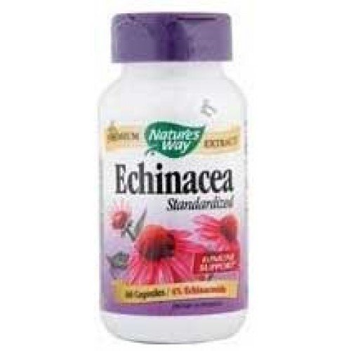 Nature's Way ECHINACEA ANGUSTIFOLIA EX, 60 Cap Echinacea Angustifolia Standardized Extract