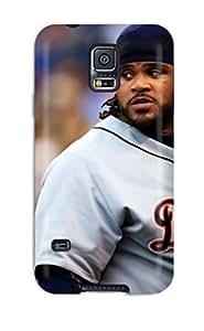 DanRobertse Galaxy S5 Hybrid Tpu Case Cover Silicon Bumper Detroit Tigers