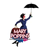 """Mary Poppins Poster Broadway Musical Promo Poster, 12"""" x 18"""" (297 x 450 mm) Umbrella"""