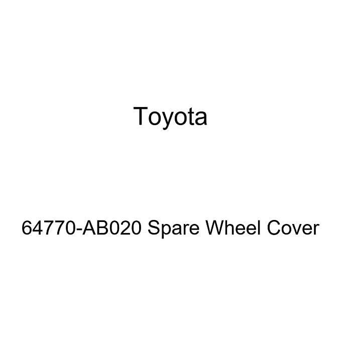 Toyota Genuine 64770-AB020 Spare Wheel Cover