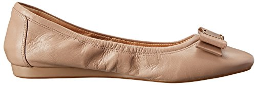 Flat Leather Bow Haan Sugar Ballet Women's Tali Maple Cole nHXx87tH
