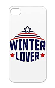 Winter Lover T2 Navy Holidays Occasions Xmas Freeze Christmas Snow Christmas Love Frost Ice Cold For Iphone 5/5s Case Cover