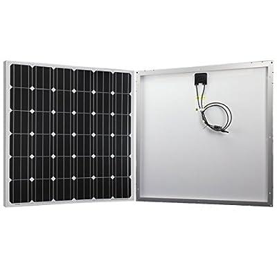 200W Solar Panel, Monocrystalline for RV, Boat 12V Battery Charging