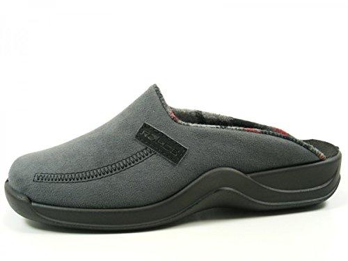 Rohde Vaasa-H - Zapatillas de estar por casa de material sintético para hombre Grau