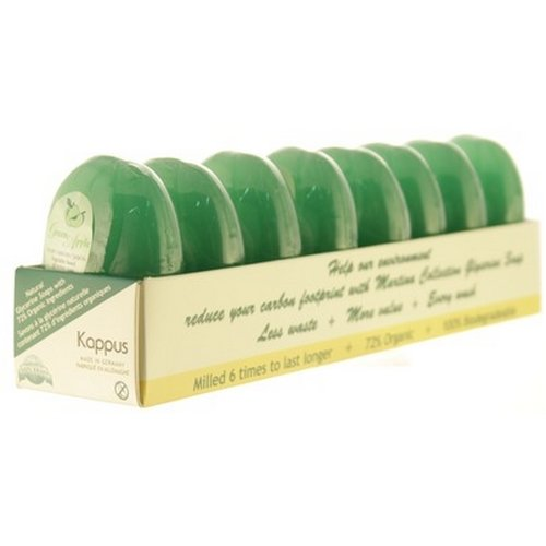 Kappus Martina Green Apple Soap 120g 4.2oz Pack of 8