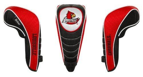 Louisville Cardinalsシャフトグリップドライバーヘッドカバーby Team Effort B0153XEL8K