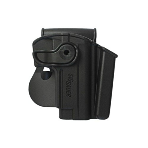 IMI Defense IMI-Z1280 For Sig Sauer Mosquito Tactical Roto Conceal Carry Polymer Holster With Integrated Mag Pouch (Iwb Holster Sig Sauer Mosquito)