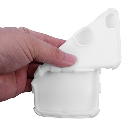 Phone Taschen & Schalen Silikon + Hartplastik Kombinationsetui für iPhone 6 Plus & 6S Plus ( Color : White )