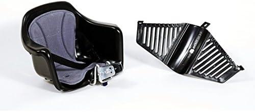Negro CS201A Asiento para manillar bicicleta HTP manillar Mil/ù y kit de acoplamiento