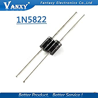 10Pcs 40V 3A 1N5822 IN5822 SCHOTTKY DIODE NEW