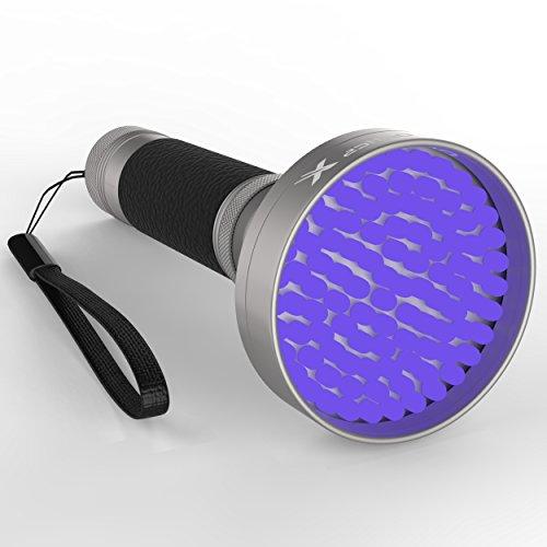 Powerful Black Light Flashlight 100 Led Uv Light Detects Pet Urine