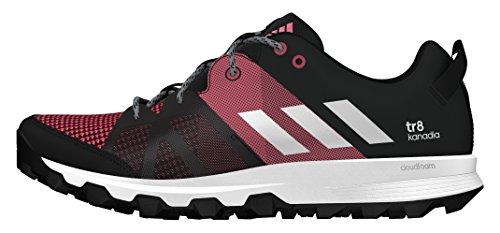 adidas AQ5849, Zapatillas de Running Mujer Negro (Negbas / Ftwbla / Rosbah)