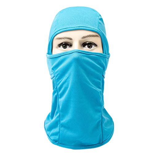 Iusun Balaclava Windproof Mask Breathable Dustproof Summer/Cold Weather Face Sunscreen Sun Protection Quick-Drying for Running Cycling Skiing Hiking Outdoor Sports Men & Women ()