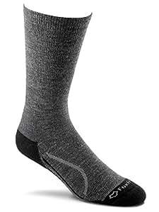Fox River Unisex Basecamp Lightweight Crew Socks, Charcoal, Large