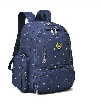 MLF-Cambio de pañal Pañales de bebé bolsa bolso de hombro doble ligero sobredimensionado, Rosa Dark Blue A