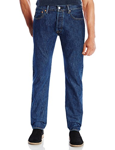 501 da Blu uomo lotto 3 marlon Levi's Fit di Jeans Original Hg1xqwqp