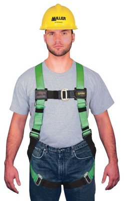 - Miller® by Honeywell Universal HP Non-Stretchable Full Body Style Harness With Back D-Ring, Friction Shoulder Strap Buckle, Mating Leg And Chest Strap Buckle, Sub-Pelvic Strap, Pull-Free Lanyard Ring And Belt Loop