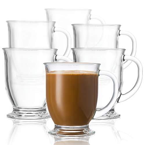 glass coffee mugs - 5