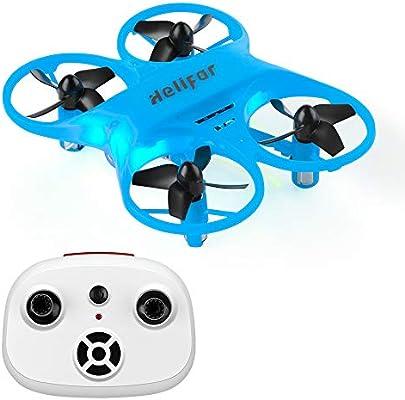 HELIFAR H8 Mini RC Drone, RC Quadcopter con función de rotación de ...