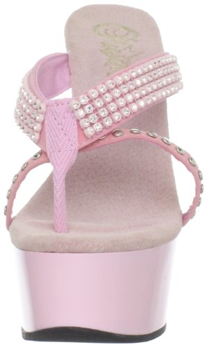 Pleaser DELIGHT-603-1 B. Pink Nubuck/B. Pink Size UK 3 EU 36