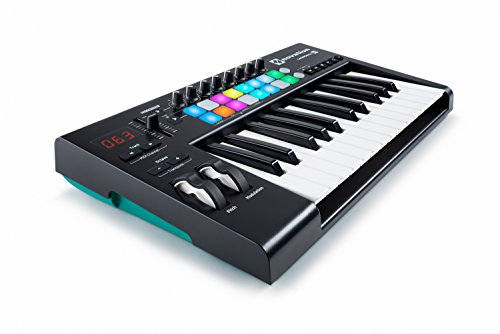 Novation Launchkey 25 USB Keyboard Controller for Ableton Live, 25-Note MK2 Version by Novation