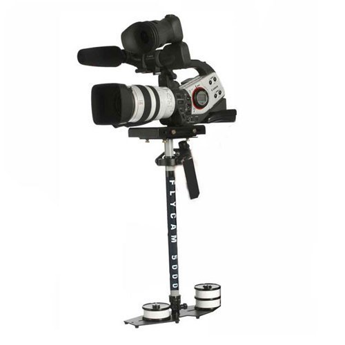 DVC 18025 Flycam 5000 Professional Camera/Camcorder Action Stabilizer with Tripod Mount Plate (Black)
