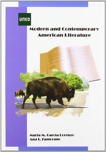 Modern and contemporary american literature (GRADO) María Magdalena García Lorenzo