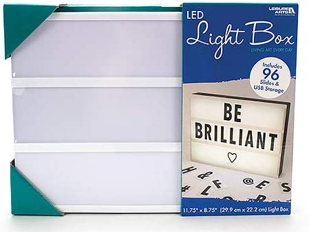 Leisure Arts Ocio Artes LED Cine Caja de luz   LED Luces – 96 Diapositivas Incluido: Amazon.es: Hogar