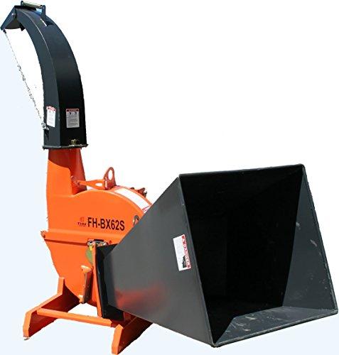 "7"" Self Feeding Wood Chipper, 3 point FH-BX62S by Farmer Helper"