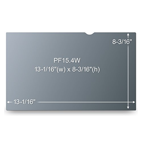 """3M Privacy Filter for 15.4"""" Widescreen Laptop (16:10) (PF154W1B)"""