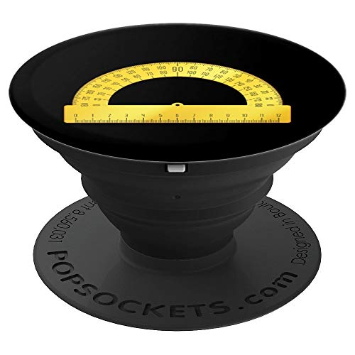 Protractor Halloween Costume for Teachers or Students PopSockets Grip and Stand for Phones and Tablets -