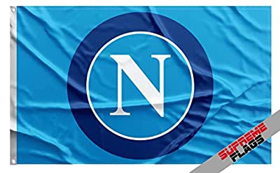 Napoli Flag Banner Italy Soccer 3x5 ft SSC Football Soccer Calcio