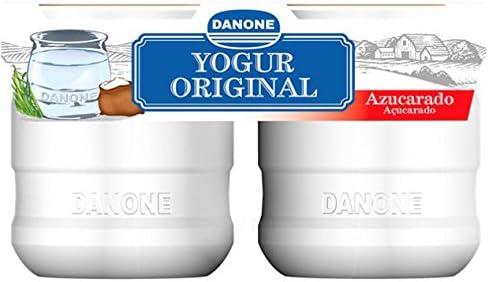 Danone Yogur Natural Azucarado, 2 x 135g: Amazon.es ...
