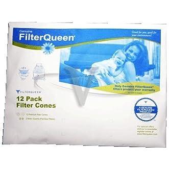 FilterQueen Filter Cone 12 Pack Paper Original